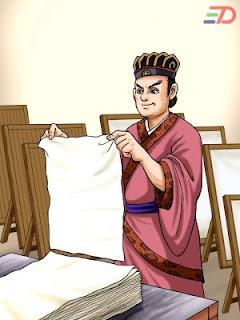 Penemu Kertas Cai Lun