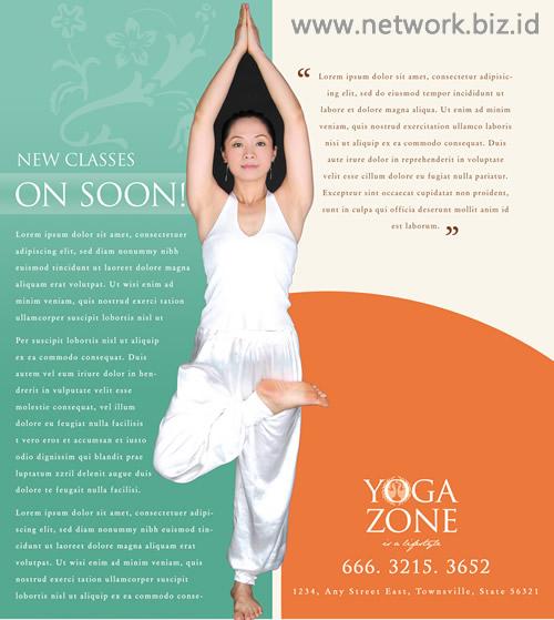 Brosur Yoga