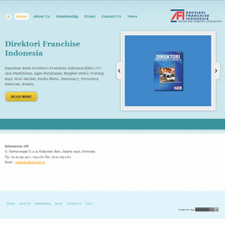 Website Asosiasi Franchise Indonesia