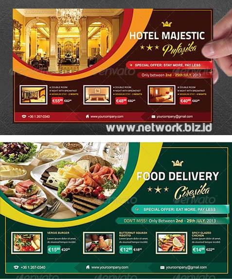 brosur hotel - restoran