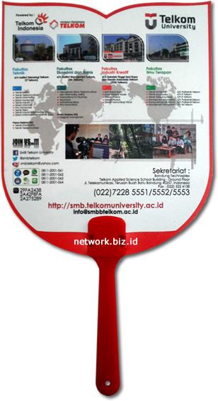 Kipas Promosi Plastik PVC Telkom University