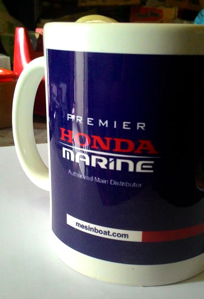Mug Promosi Honda Marine